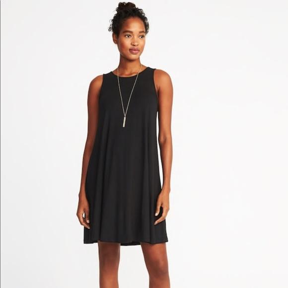1907d9942267df Sleeveless Jersey-Knit Swing Dress for Women. M 5a69270b8af1c5ab39d9051d